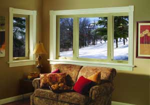 A Casement Window Has A Hinged Sash That Swings In Or Out Like A Door.  Crank Style Or Lever Style Handles Are Used To Open The Sash.