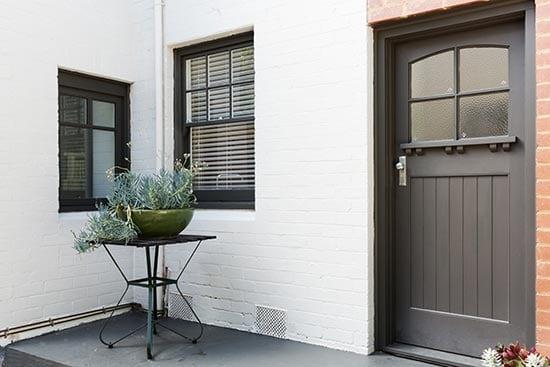 Fiberglass Entry Door.